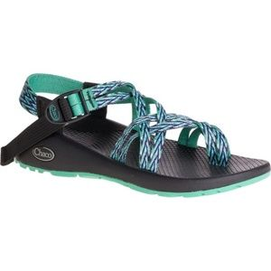 Chaco Women's Z/2 Classic Sandals Green Blue 8
